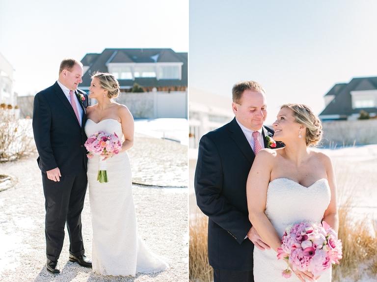 RI Snowy Wedding