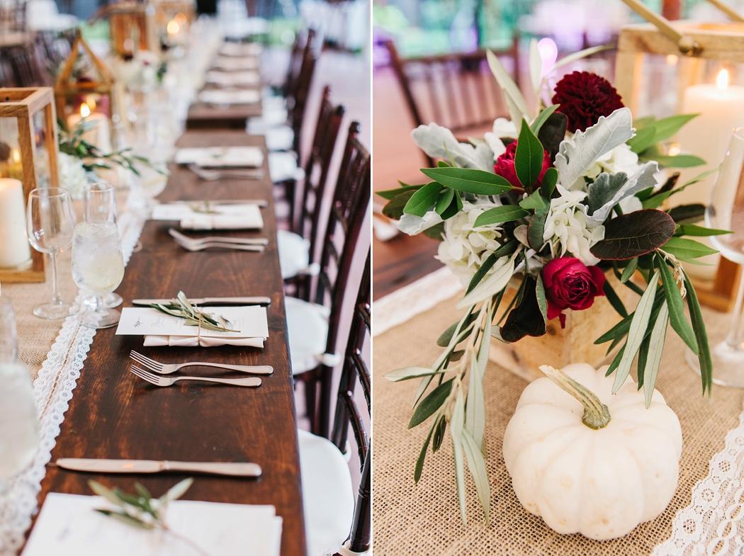 fall wedding design Erin McGinn