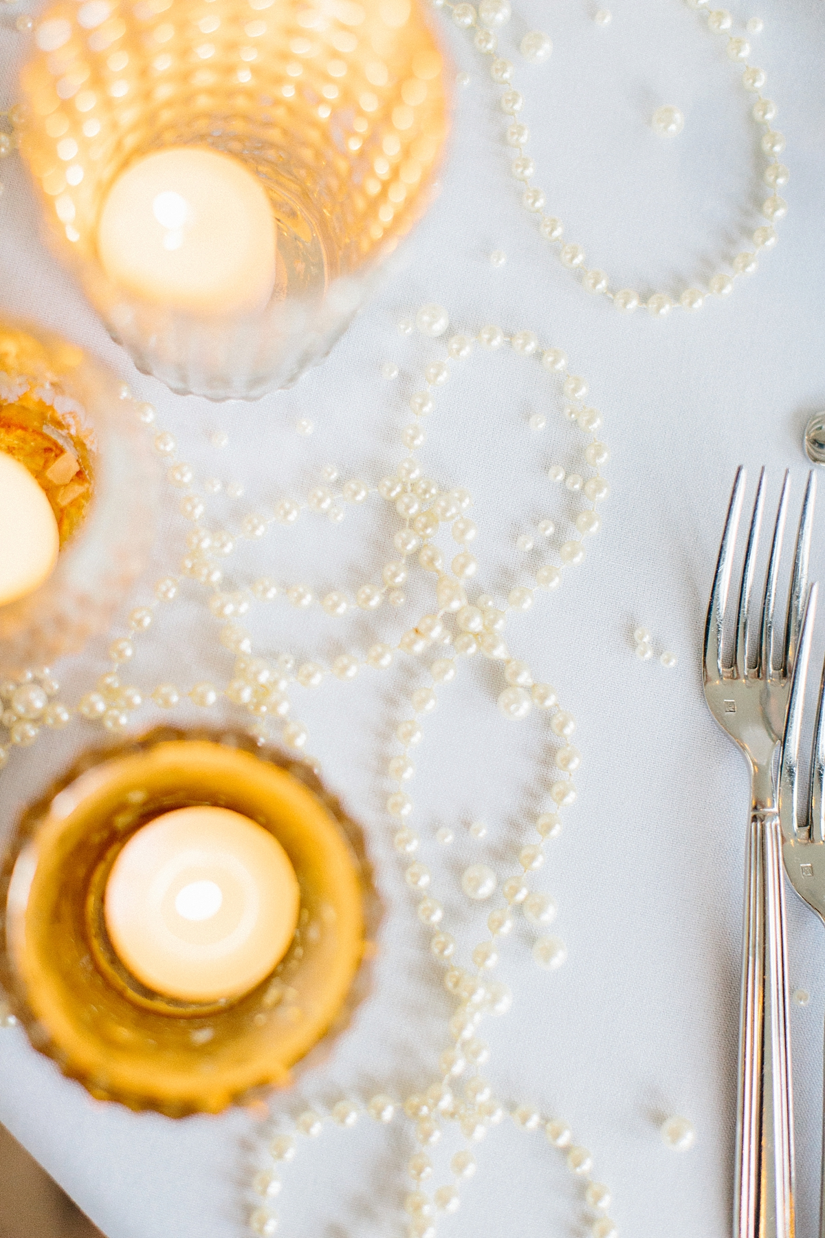 pearl decor wedding