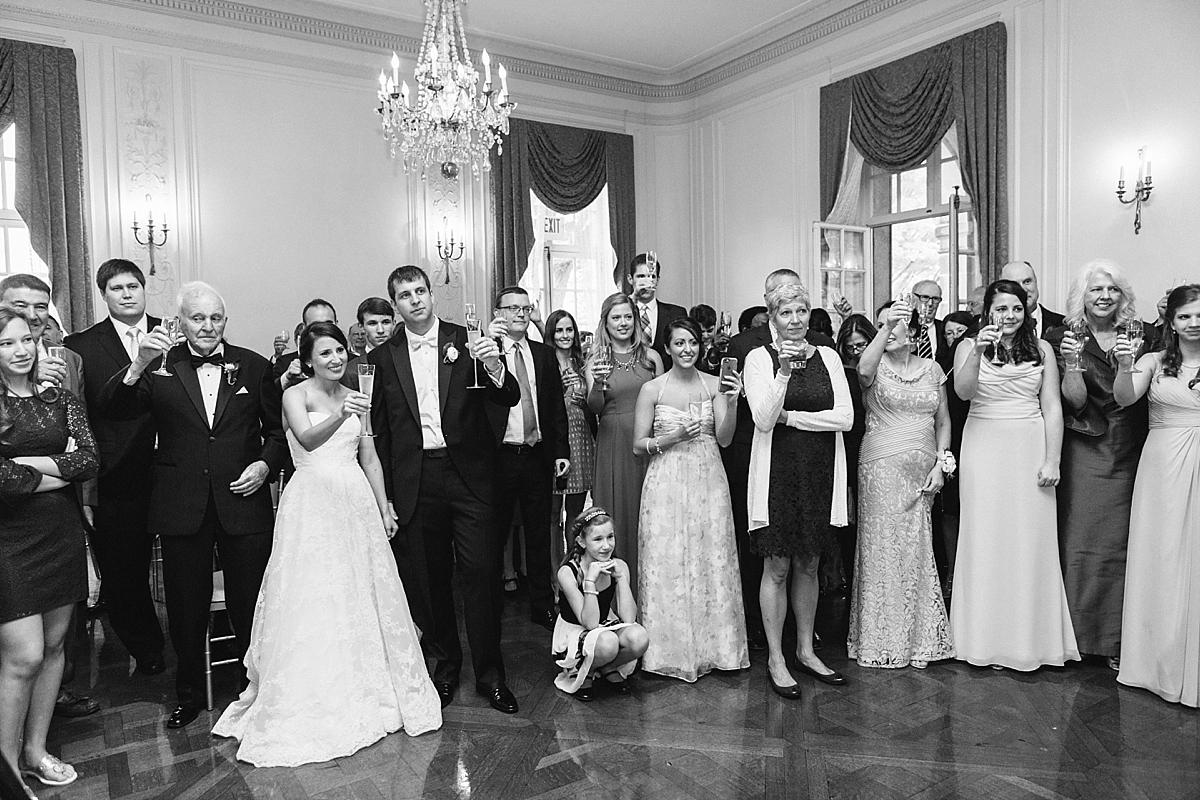 toasts at glen manor house
