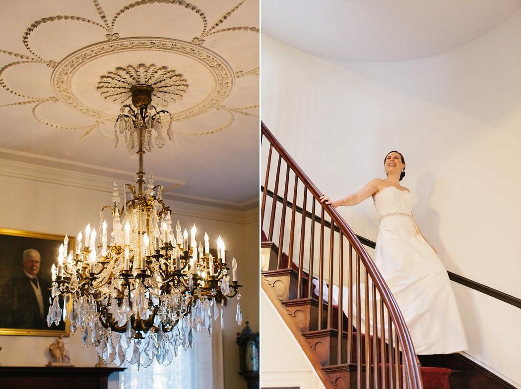 © Erin McGinn Photography | bristol ri wedding | chandelier