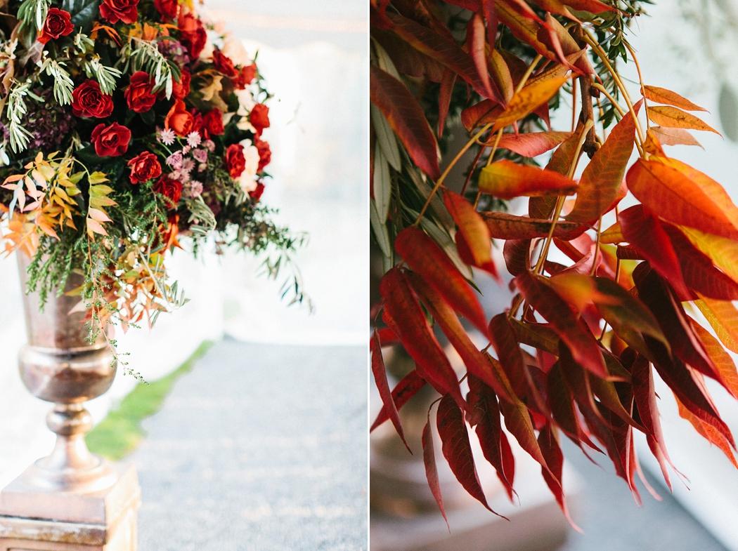 © Erin McGinn Photography fall wedding decor