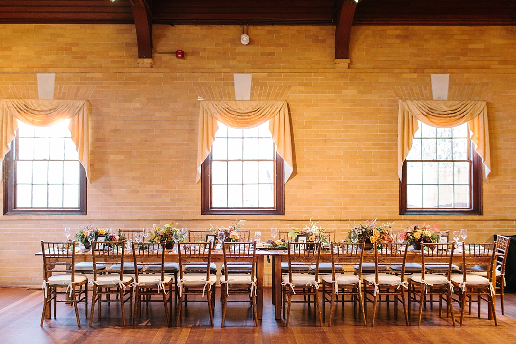 © Erin McGinn Photography farm table barn wedding