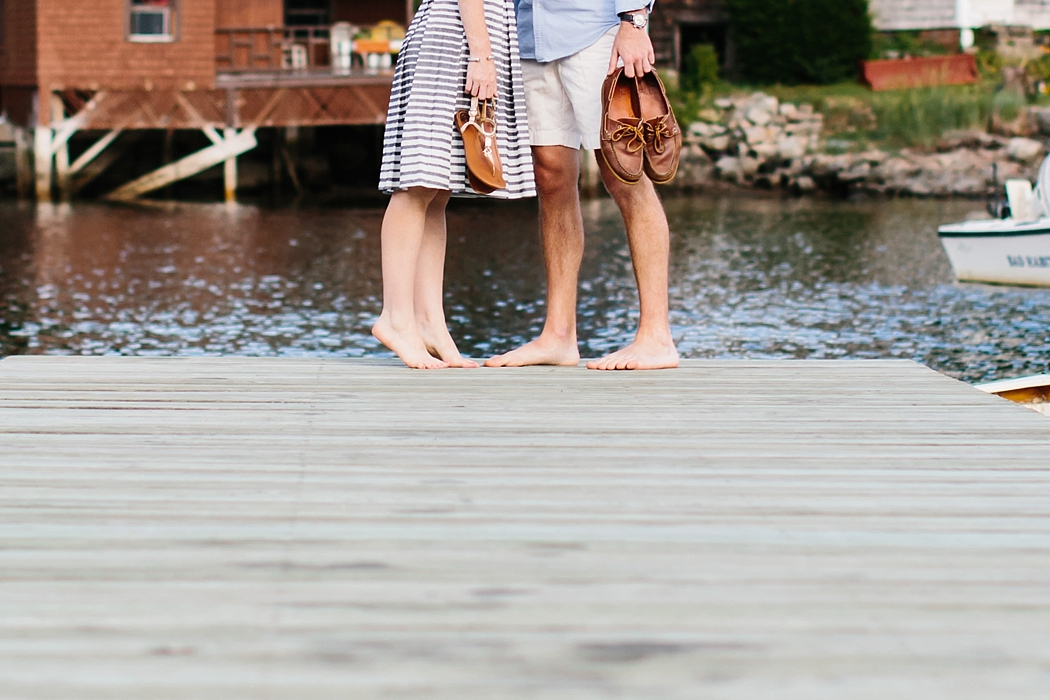 © Erin McGinn Photography | boat shoes | gloucester engagement