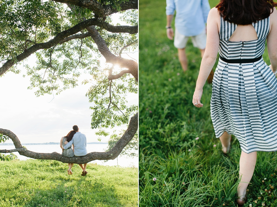 © Erin McGinn Photography   tree engagement sessions