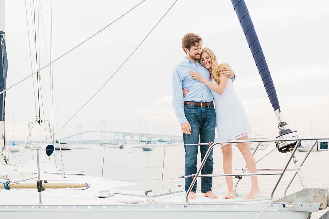 sailing engagement   © Erin McGinn Photography   www.erinmcginn.com