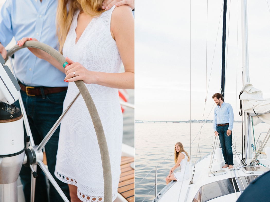 sailing engagement | © Erin McGinn Photography | www.erinmcginn.com
