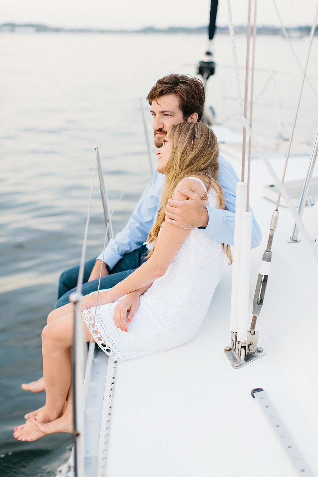 couple on sailboat| © Erin McGinn Photography | www.erinmcginn.com