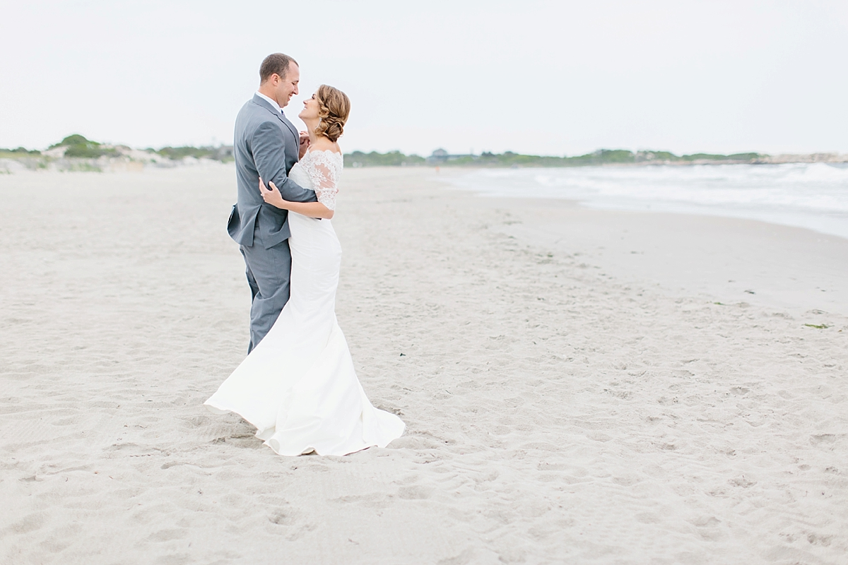 beach weddings in rhode island