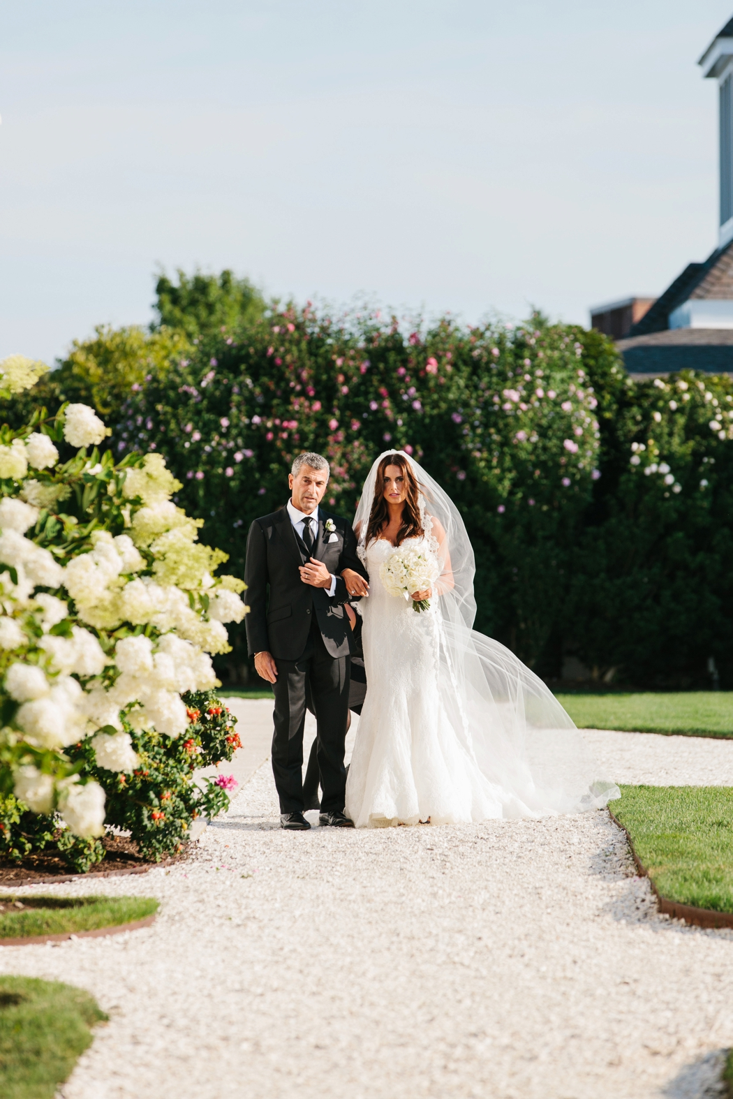 A modern elegant wedding at belle mer newport - Erin ...