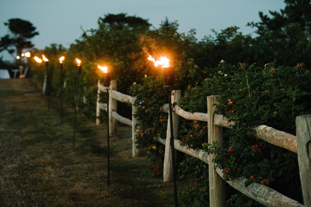 wedding tiki torches