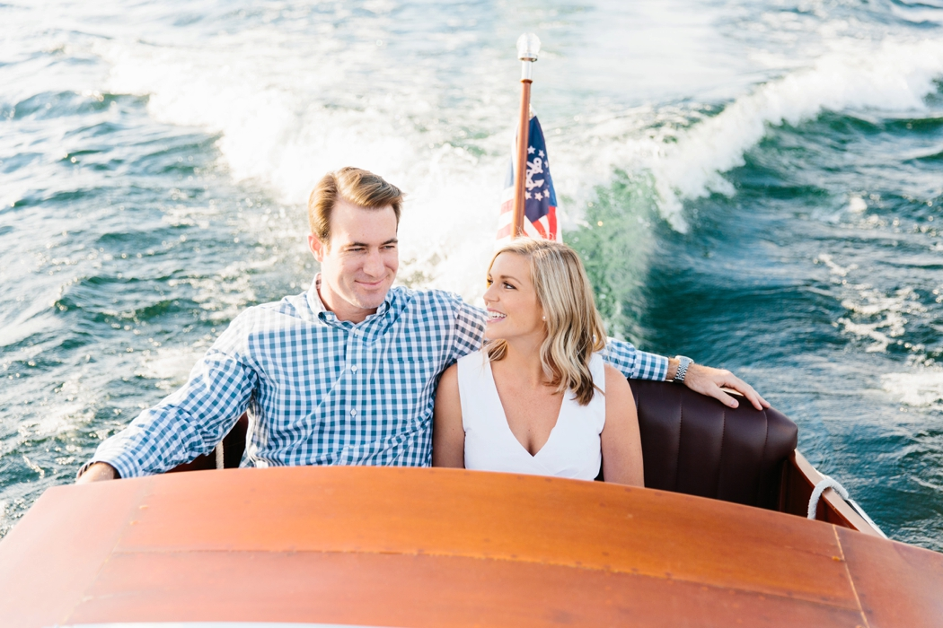 boat ride engagement nh