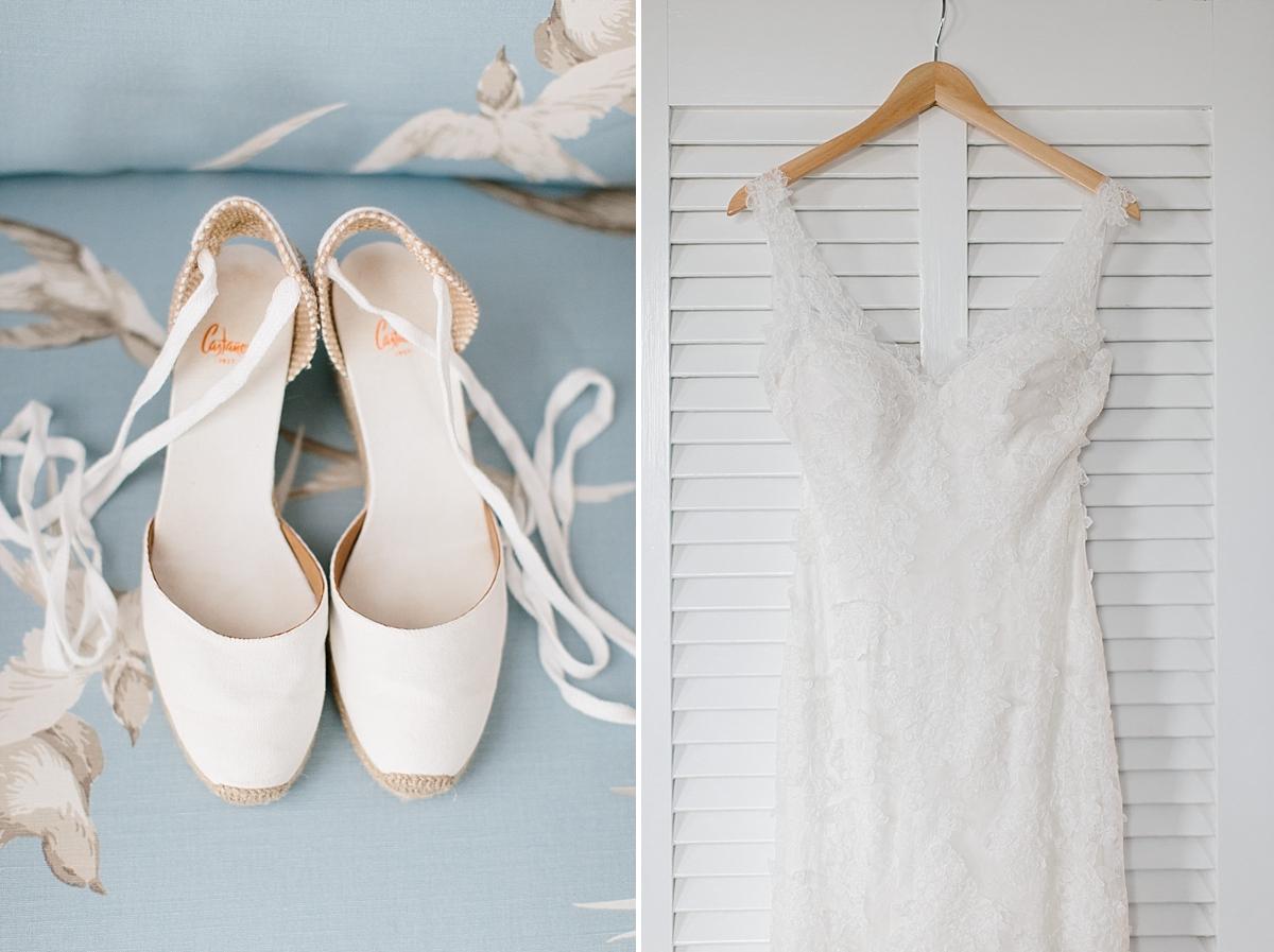 Monique Lhullier v neck lace Dress shoes by castener