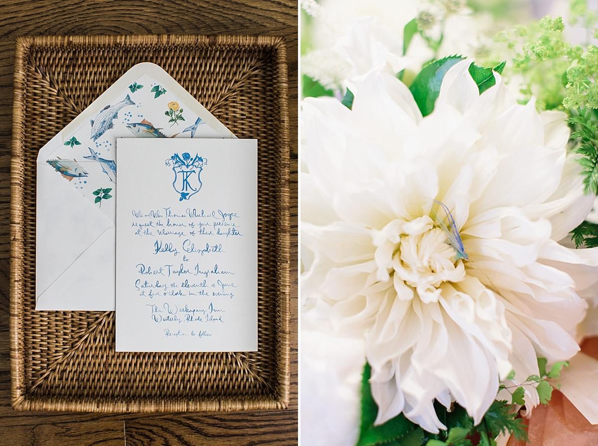 wedding invitation fishing theme by Happy Menocal