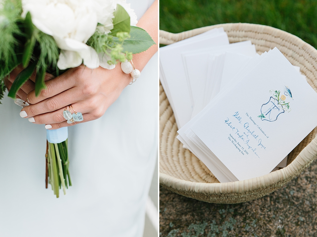 jewelry by mary magill, invitations by happy menocal