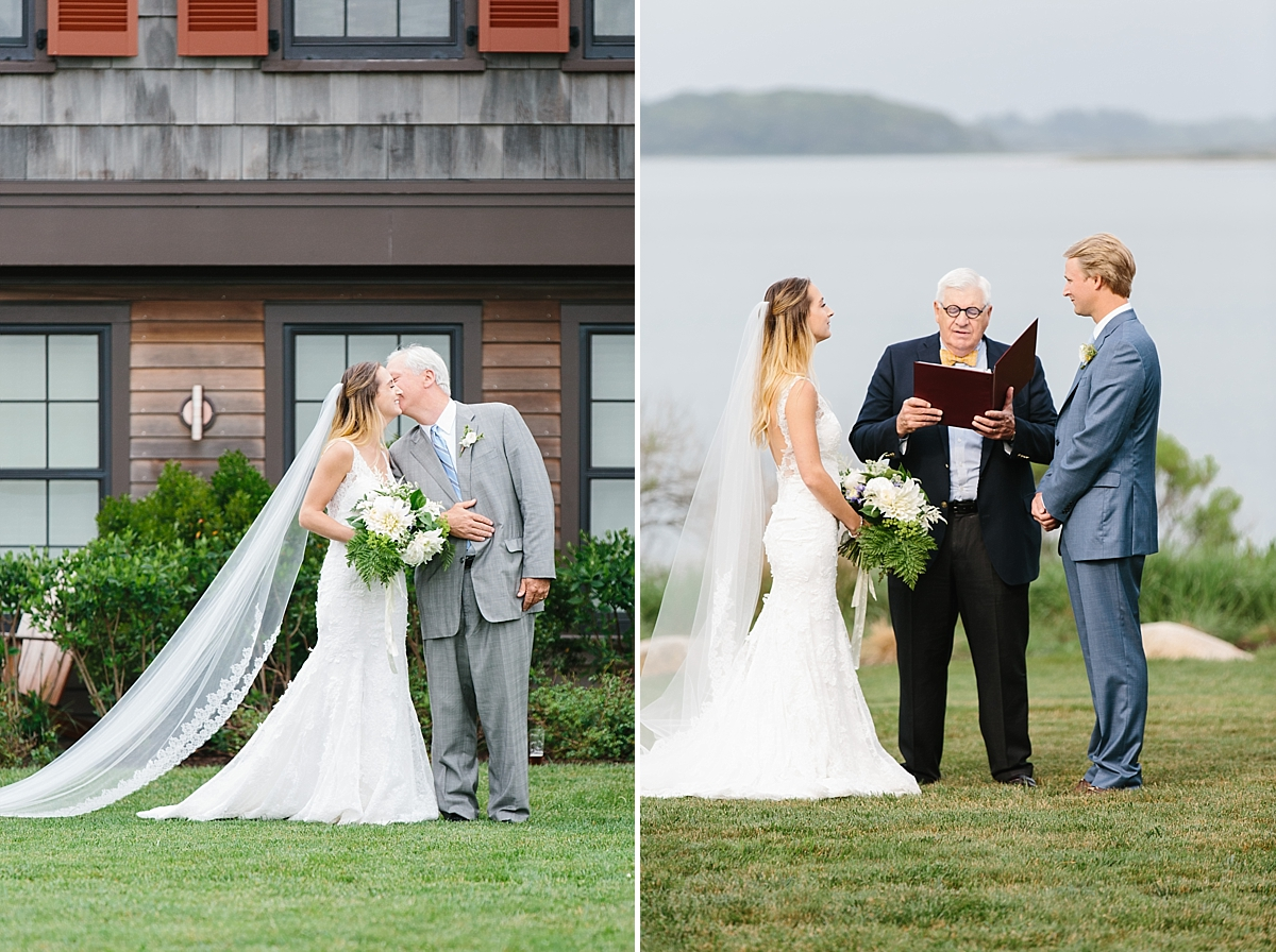 wedding ceremonies at the weekapaug inn