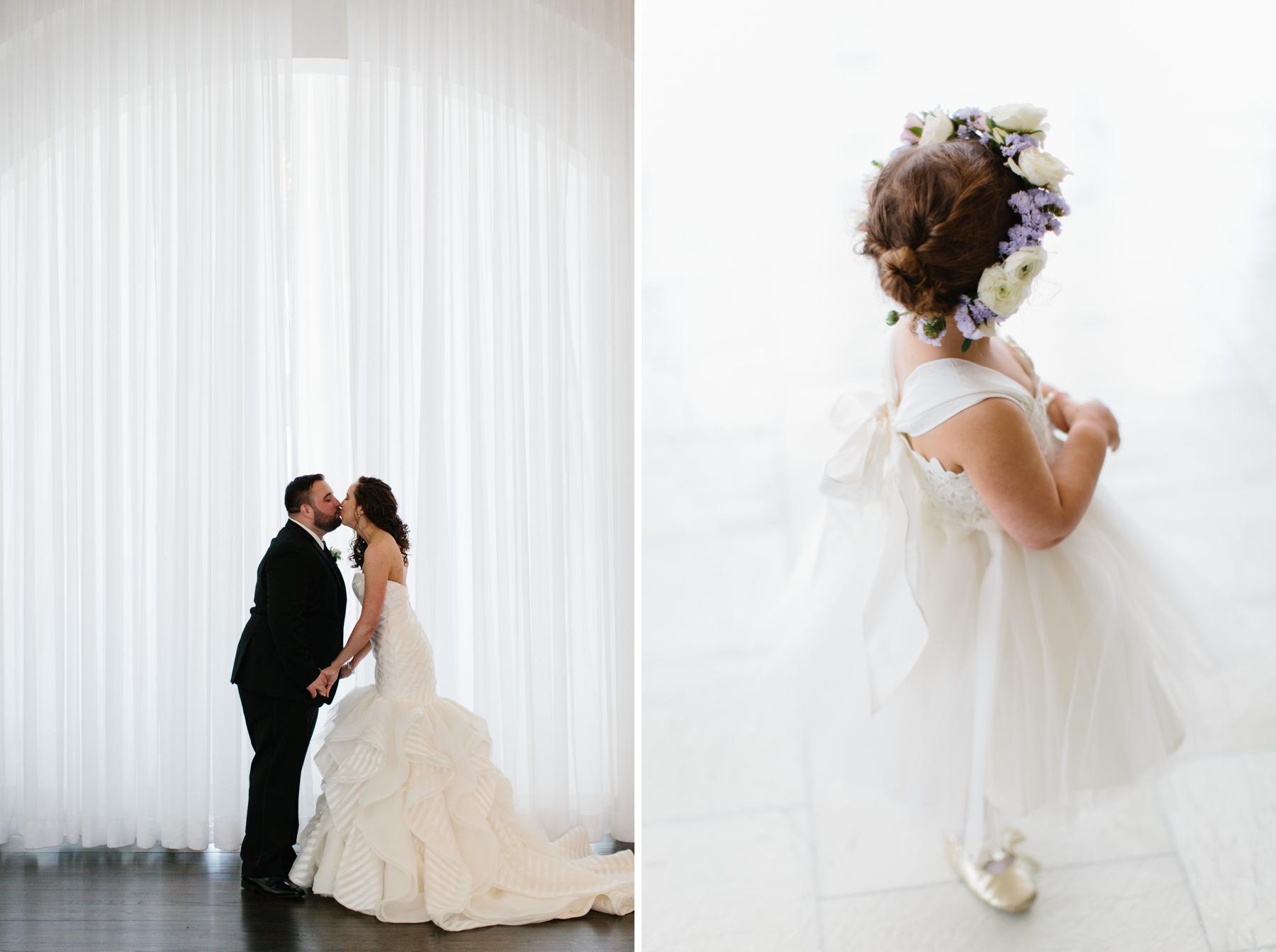 belle mer wedding portraits