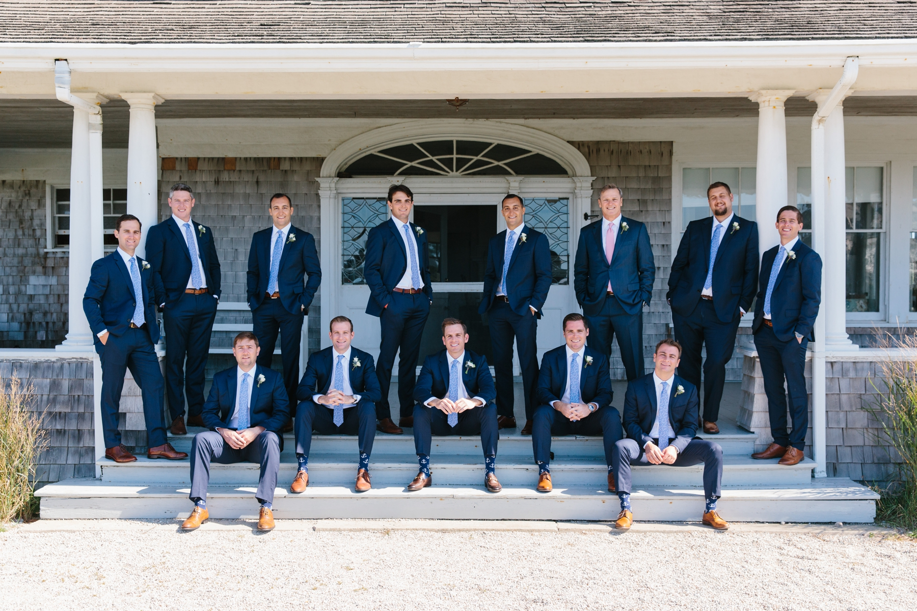 groomsmen in little compton