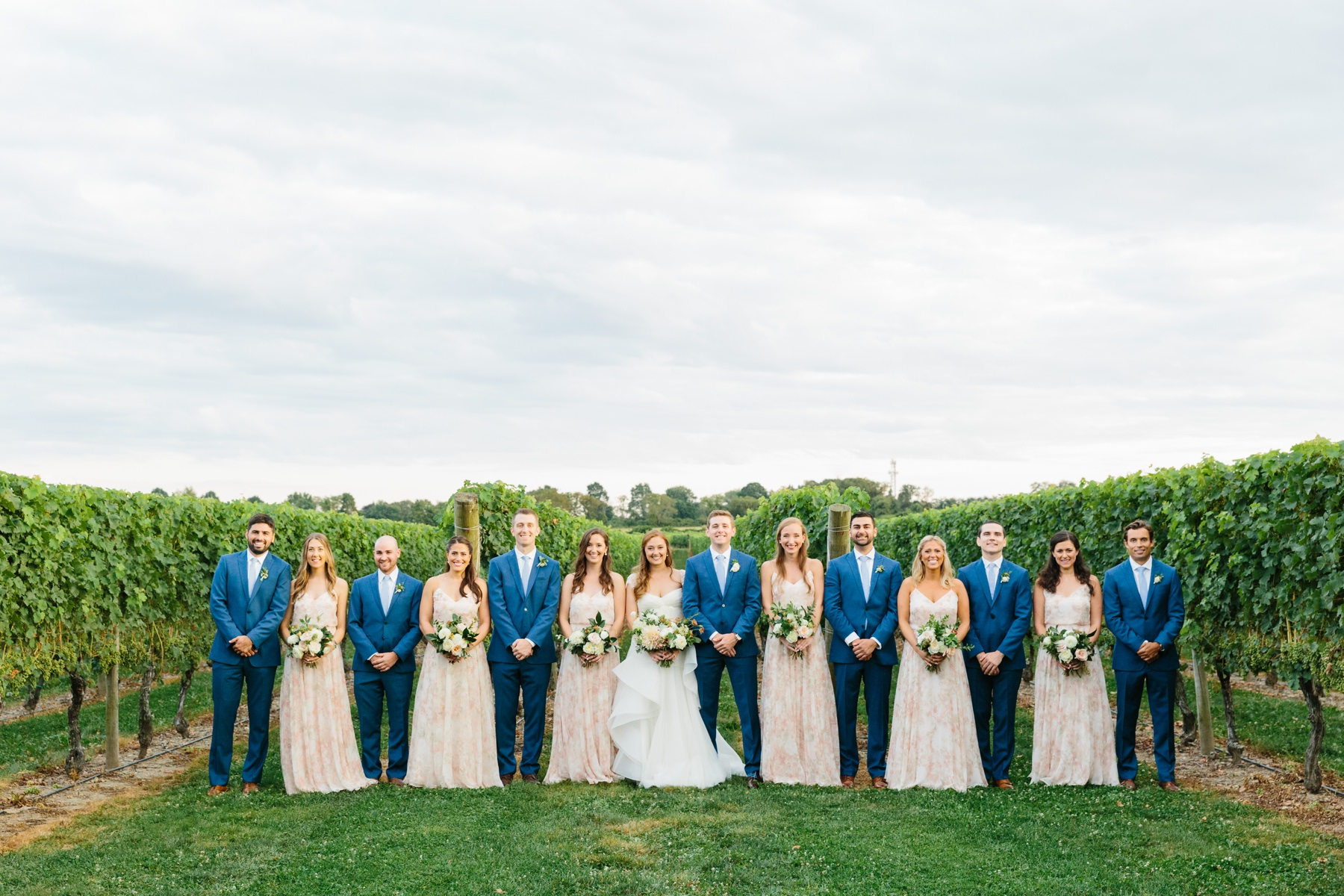 bridal party newport vineyards