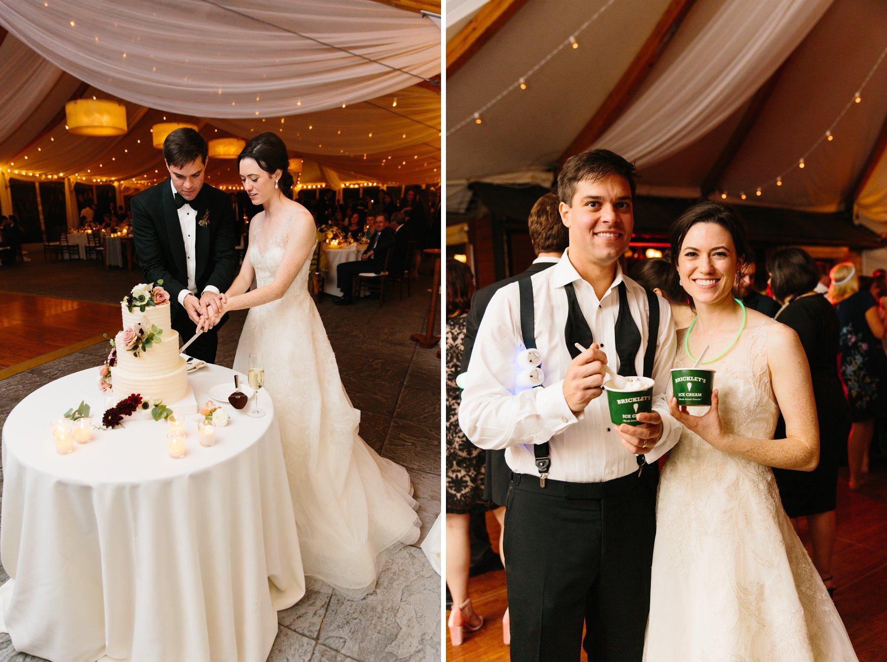 brickleys ice cream wedding
