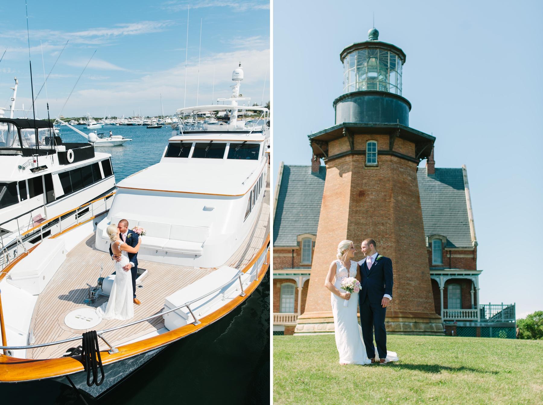 nautical spring house wedding