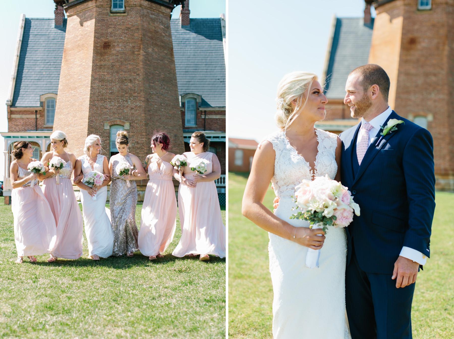 block island lighthouse wedding
