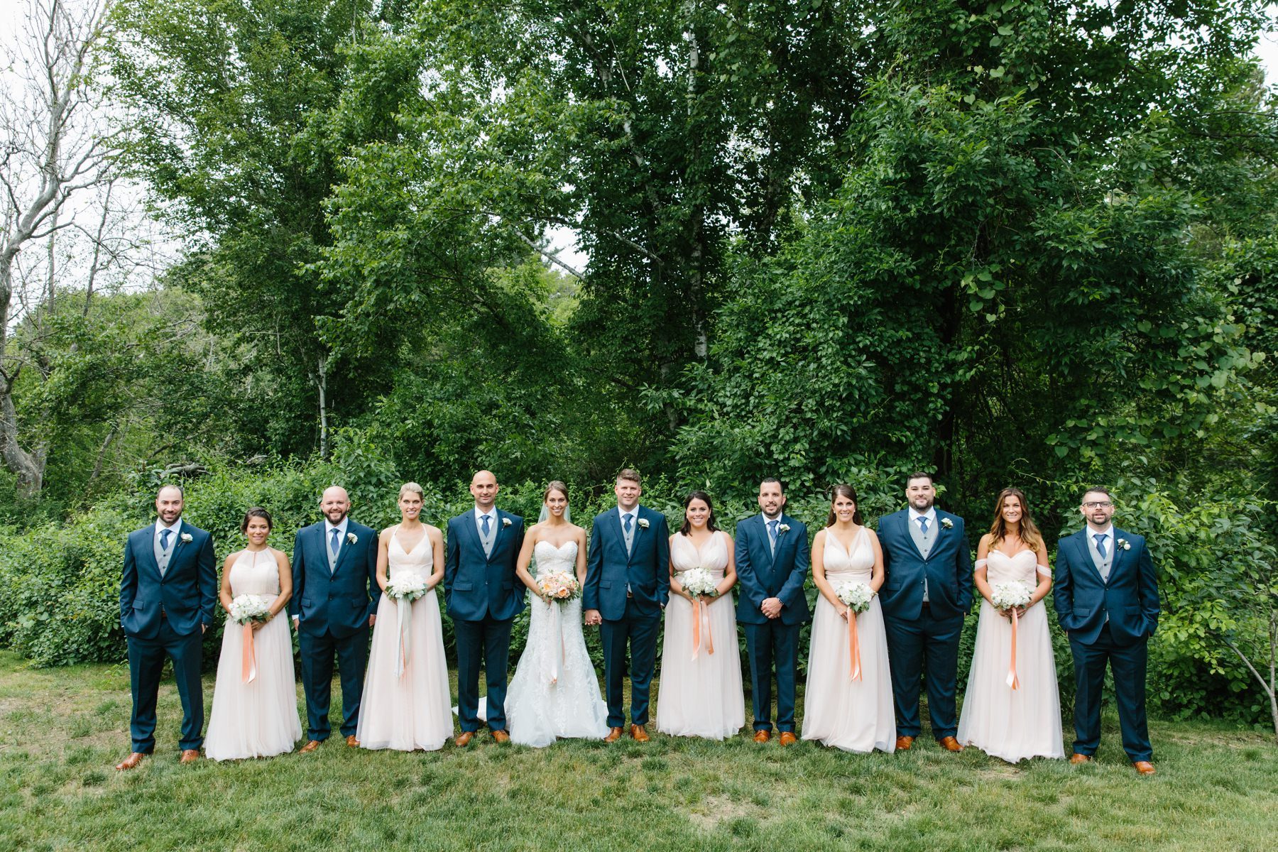 bridal party willowdale estate