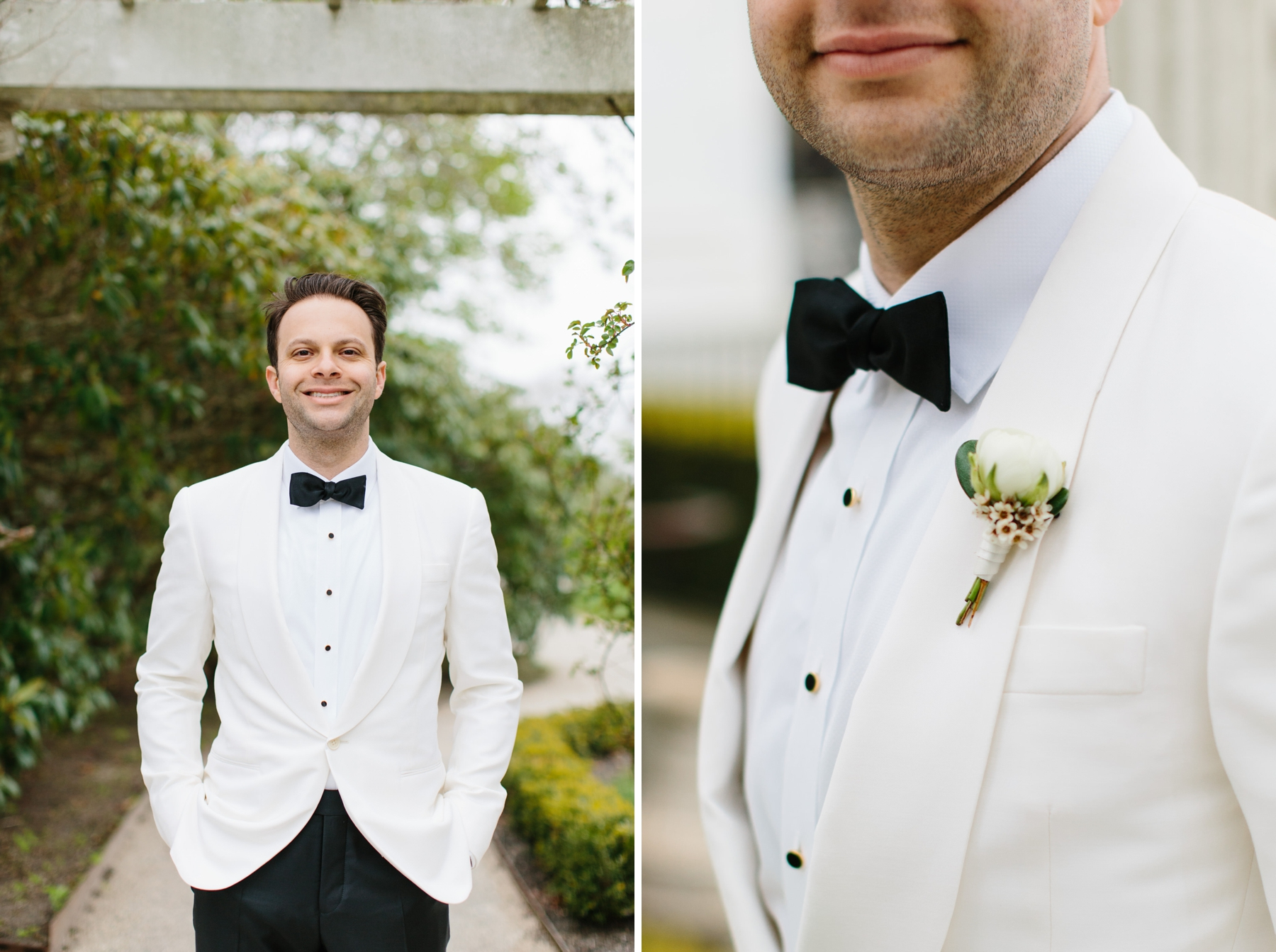 rosecliff groom white dinner jacket