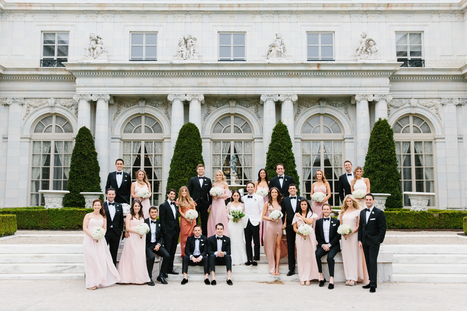 rosecliff large bridal party