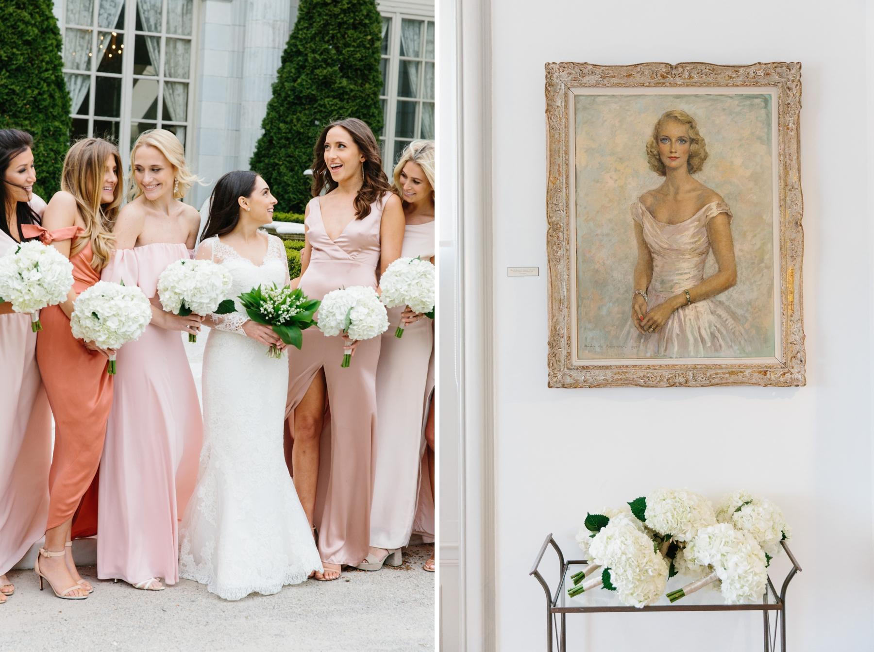 rosecliff bridesmaids