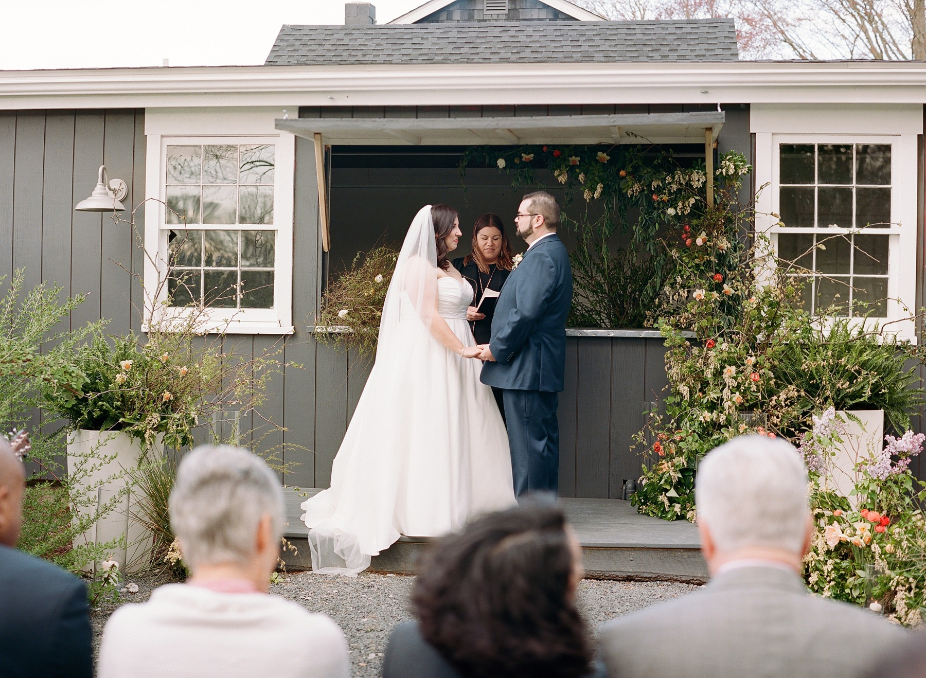 micro wedding quonset hut