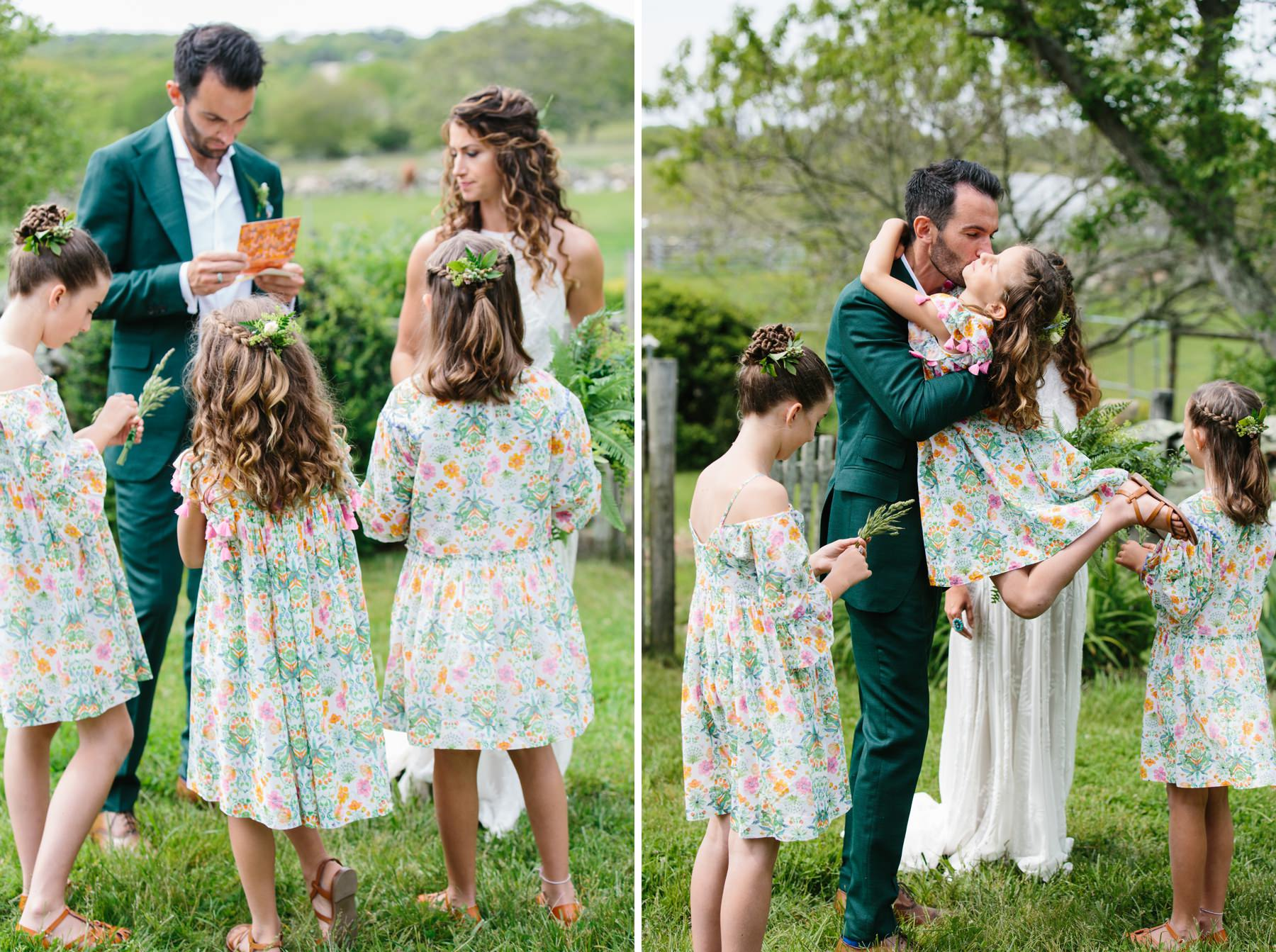 mixed family wedding traditions