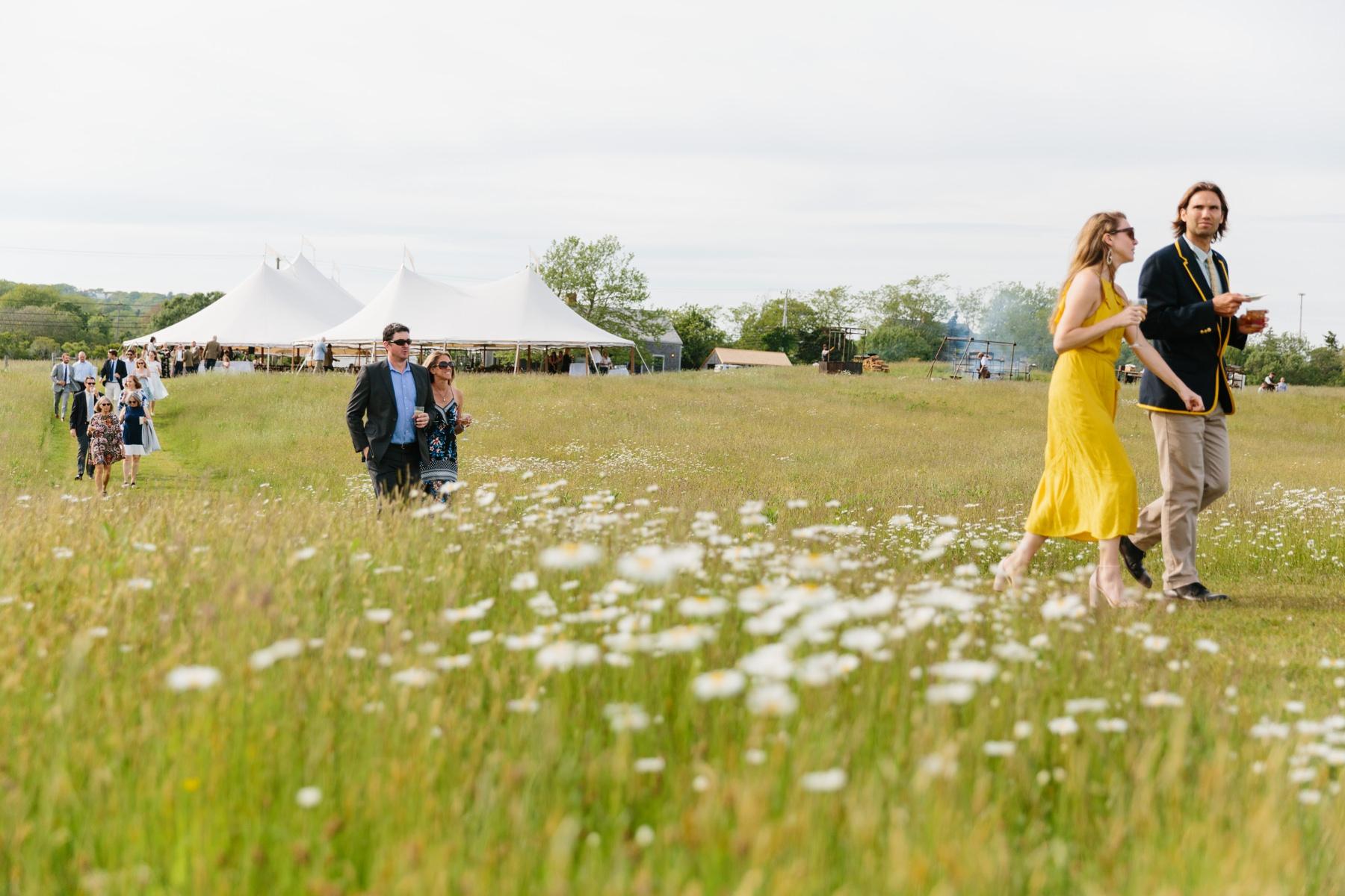 wedding ceremony farm vineyard