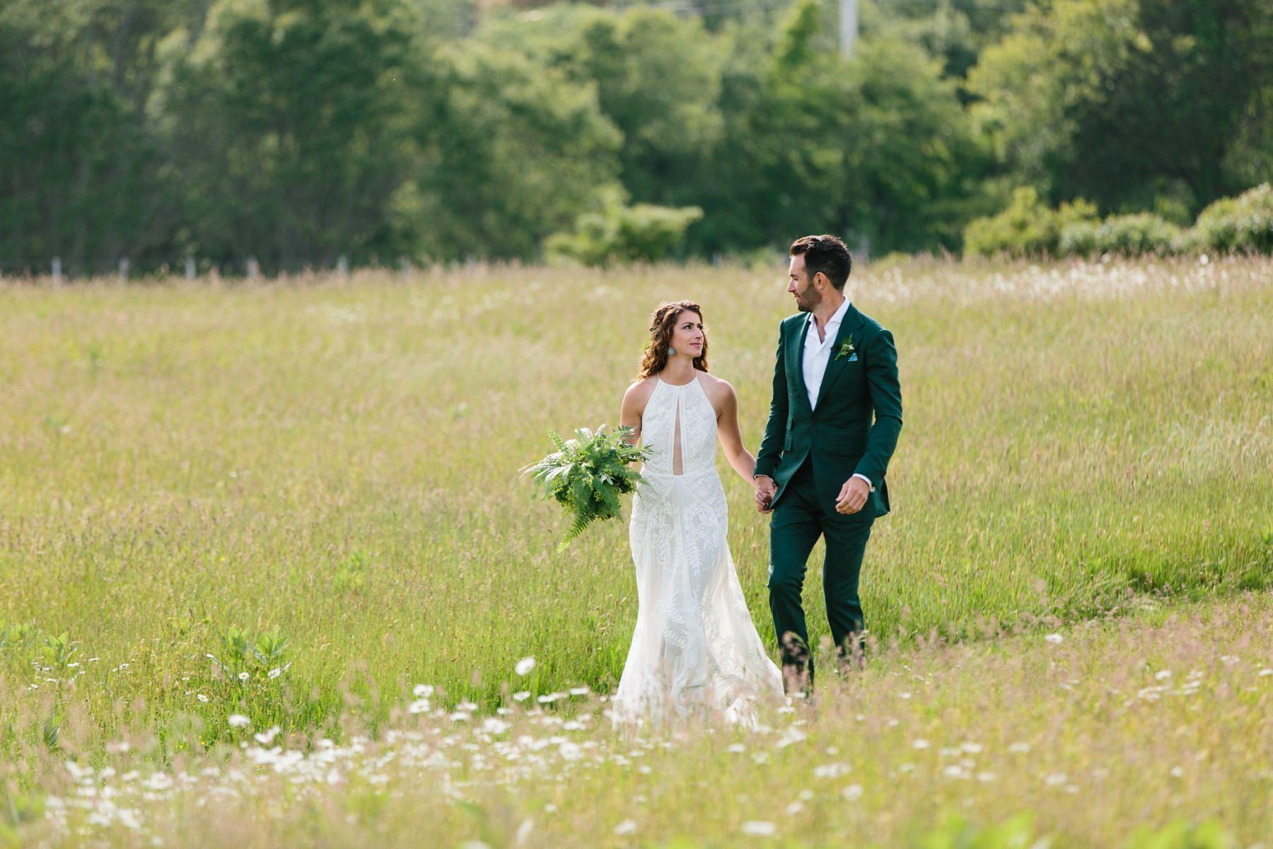 allen farm wedding ceremony