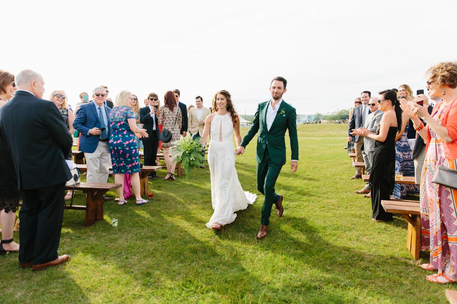non traditional wedding ceremony