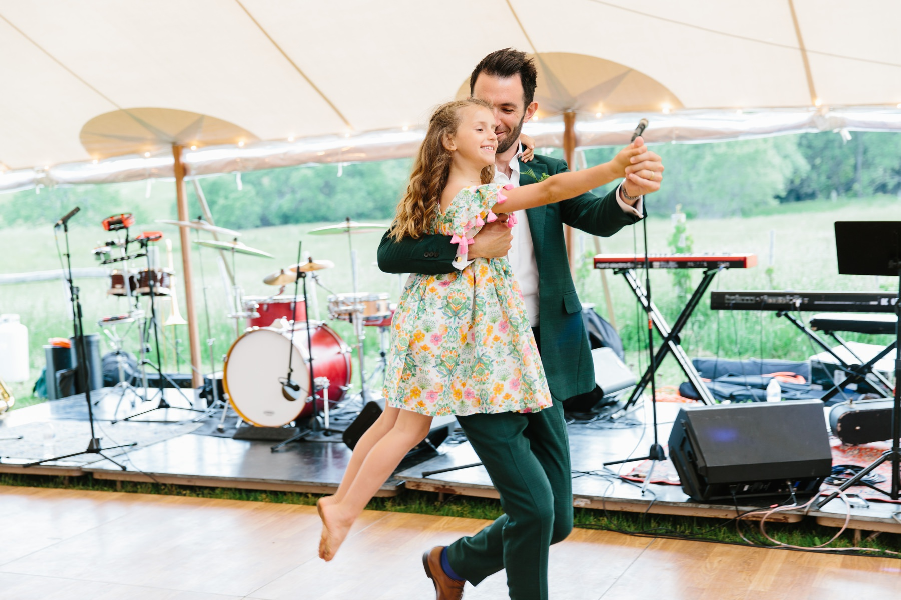 first dance step daughter