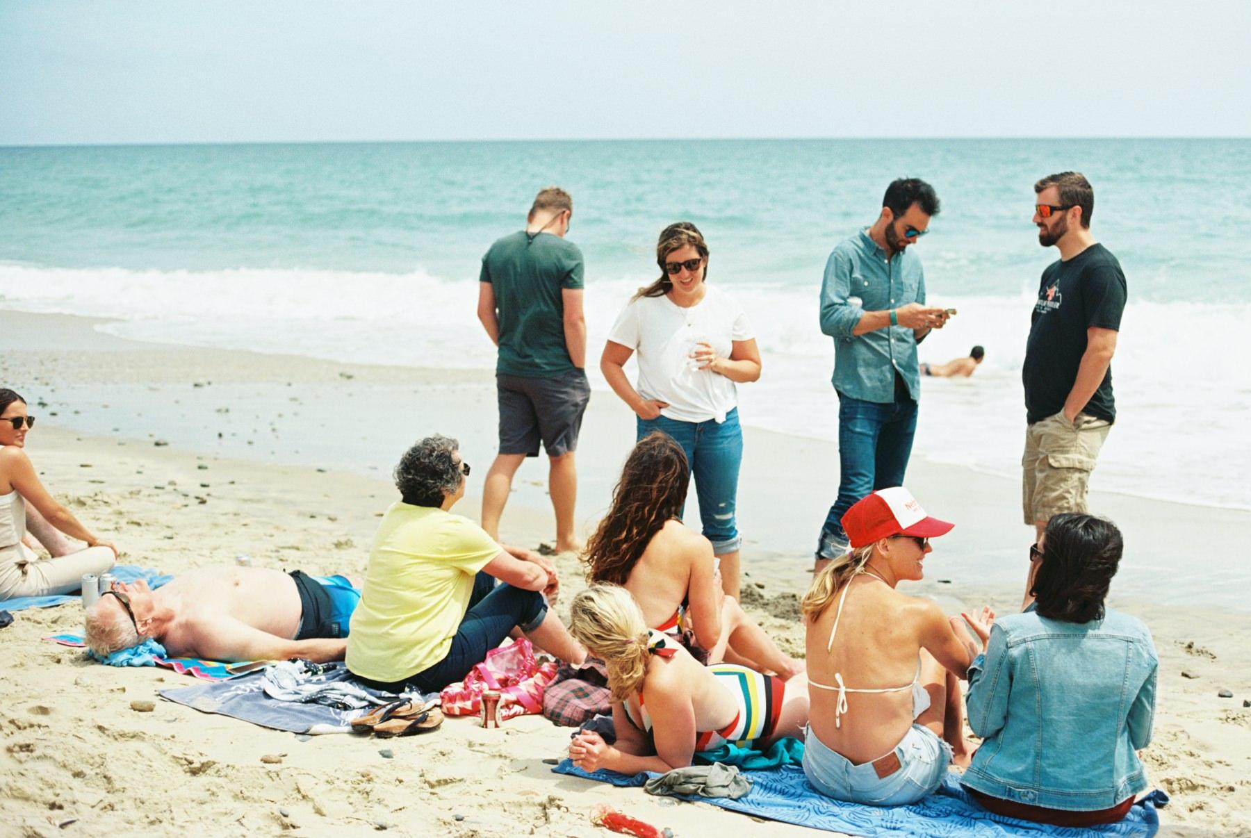 beach welcome party marthas vineyard