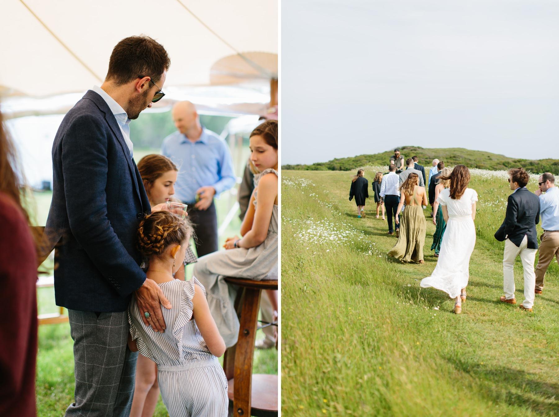 allen farm wedding party
