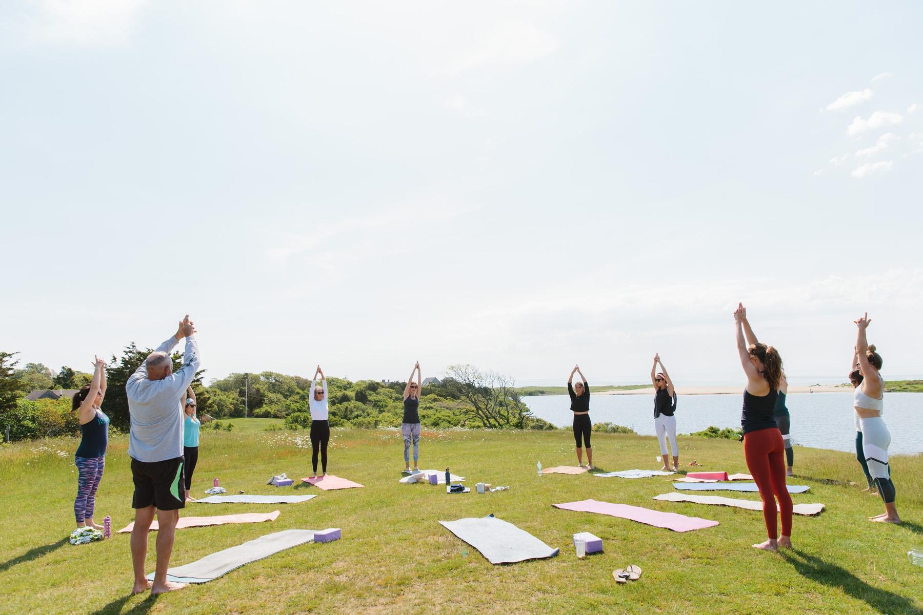 yoga before wedding