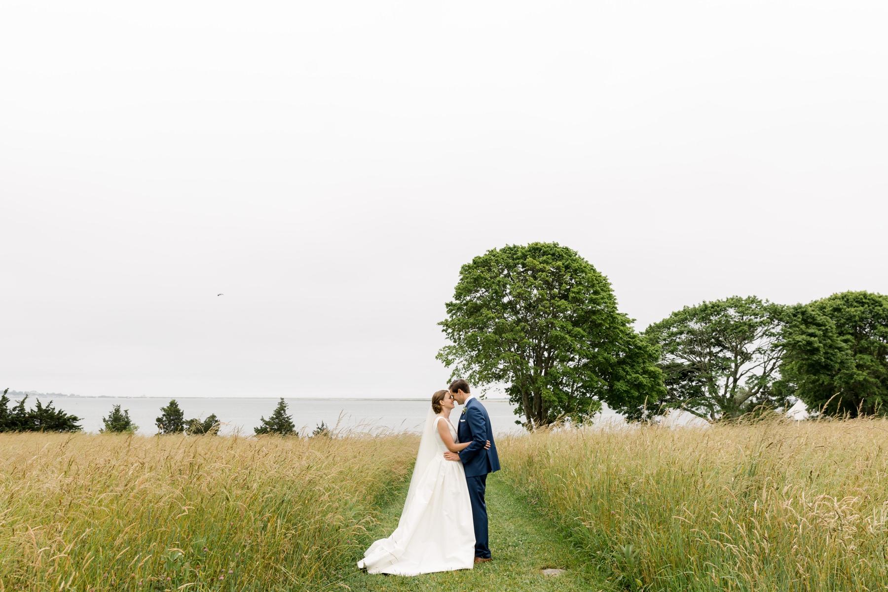 stonington ct bride groom portrait