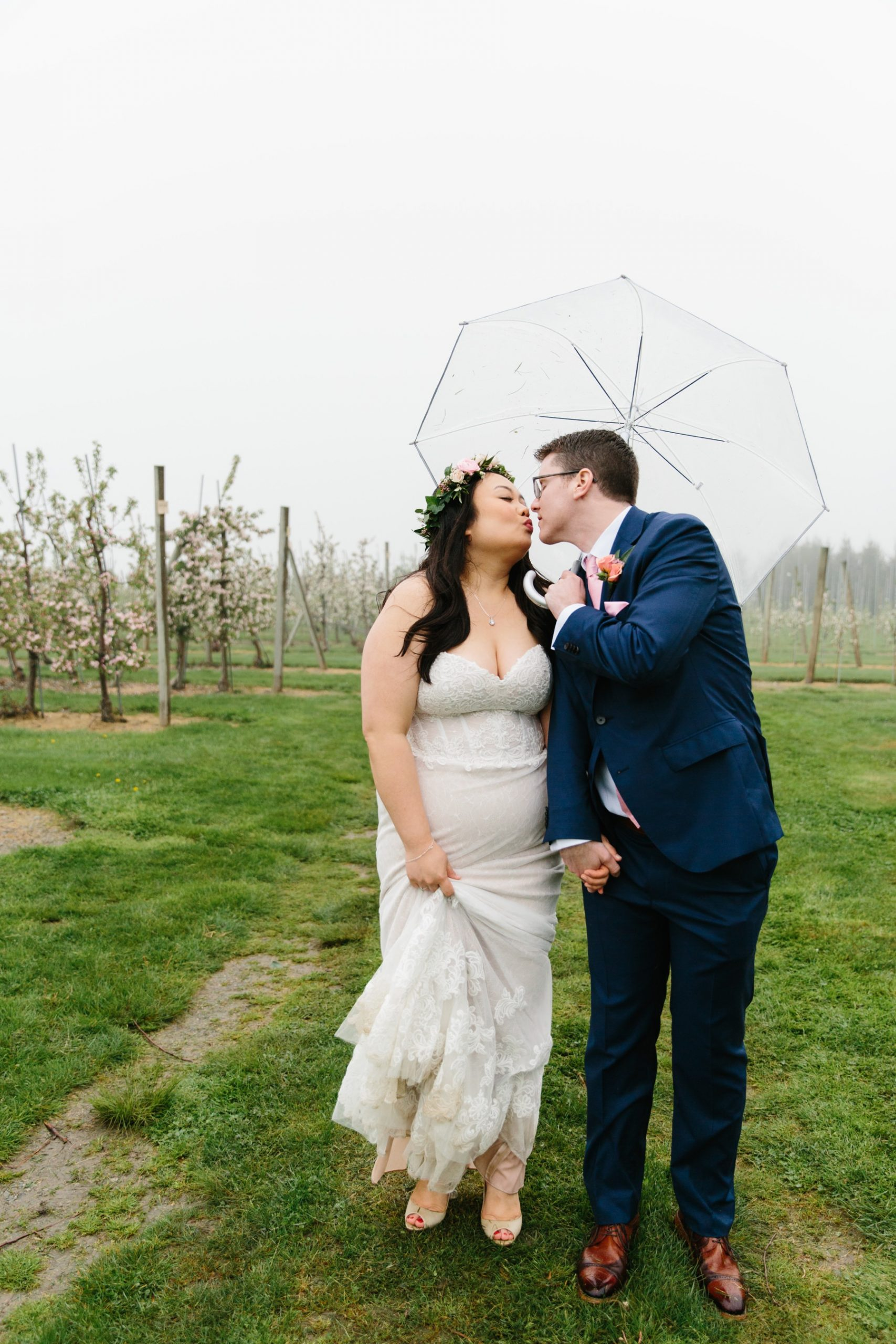 ri spring wedding rain