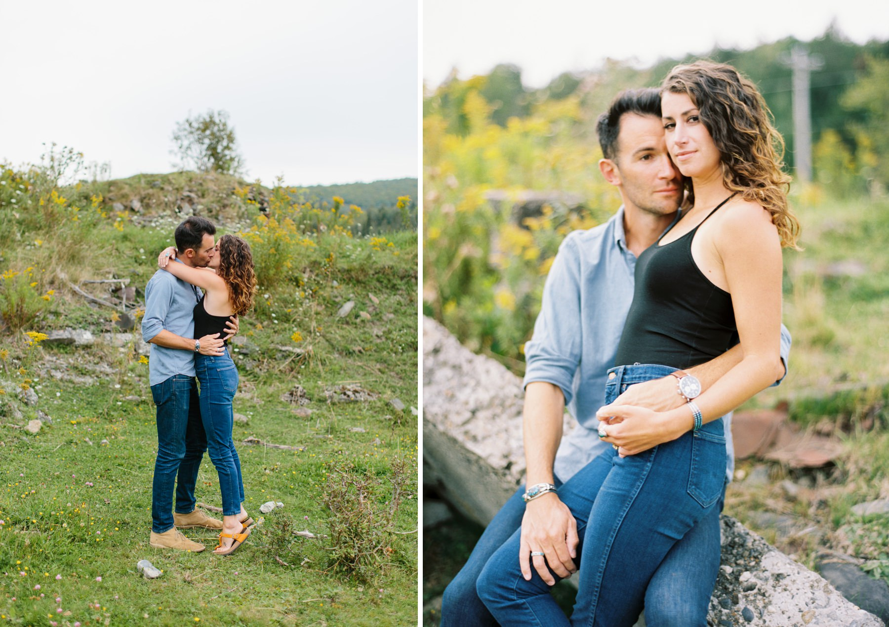vermont mountain engagement